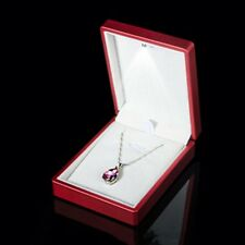 LED Lighted Necklace Earring Ring Gifts Box Wedding Engagement Jewelry Display