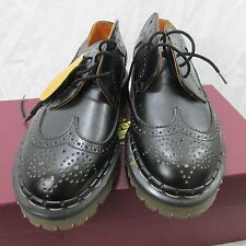 Tredair black wingtip lace up shoes, UK6, new