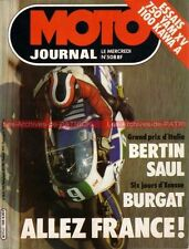 MOTO JOURNAL  508 TGM 250 C81 YAMAHA XV 750 KAWASAKI Z1100 A  GP de FRANCE 1981