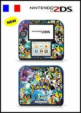 POKEMON Vinyl Skin Sticker for Nintendo 2DS - réf 150