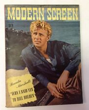 Modern Screen Magazine   November 1941   Stirling Hayden Photo Cover