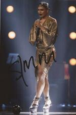 X FACTOR* SEANN MILEY MOORE SIGNED 6x4 ACTION PHOTO+COA