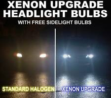 VOLKSWAGEN GOLF MK4 XENON ICE BLUE HEADLIGHT BULBS H1