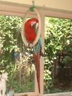 NEW SISAL ROPE PARROT PERCH LARGE SINGLE SWING RING TOY