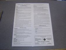 Shuffleboard Rules, Games, Board Care, Helpful Hints Poster *Laminated* FREE S&H