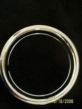 "15"" Chrome Steel Beauty Wheel Trim Rings Set of Four Chevy Ford 15 inch GM Dodge"