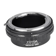 FOTGA Nikon AI AF-S G Objektiv Lens Adapter für Sony Alpha A7 Nex 7 5N 3 3VG10E