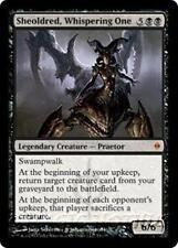 SHEOLDRED, WHISPERING ONE New Phyrexia MTG Black Creature — Praetor MYTHIC RARE
