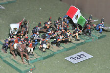 25mm mexican-american war mexican infantry 24 figures (9289) metal painted