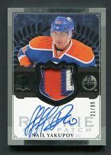 2013 12-13 UD The Cup Nail Yakupov Rookie Patch Autograph #d/99