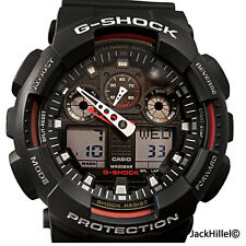 CASIO GSHOCK GA100-1A4 G-SHOCK MENS SPORTS WATCH