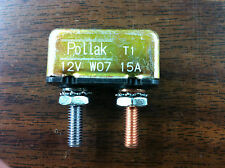 15 AMP CIRCUIT BREAKER FOR MOTORCYCLE HARLEY DAVIDSON