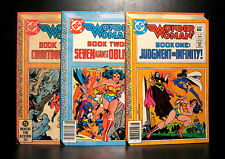 COMICS: DC: Wonder Woman #291-293 (1980s) set (3 bks) - RARE (figure/batman)