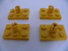 Lego 4 rotors jaunes set 6697 1469 912 42 404 / 4 yellow rotor holder