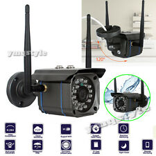 HD 720P Wireless WIFI IP Camera Outdoor Network Night Vision Security CCTV Cam