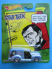 HOTWHEELS 2014 STAR TREK SCOTTY CUSTOM'52 CHEVY/ONE LINERS1: 64 SCALE