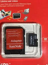 micro sd card 4gb With Adapter (new)