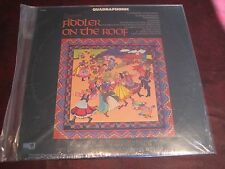 FIDDLER ON THE ROOF HOLLYWOOD POP CAPITOL RECORDS SQ QUADRAPHONIC STEREO 1970 LP