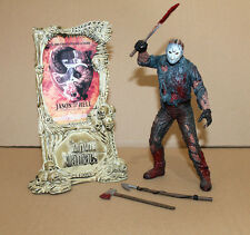 MOVIE MANIACS Friday The 13th Jason Goes to Hell VOORHEES Bloody Action Figure