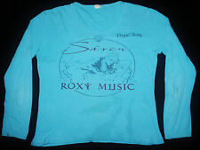 VINTAGE 70's 1975 ROXY MUSIC BRYAN FERRY PUNK ROCK TOUR CONCERT PROMO T-SHIRT