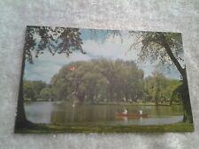 Vintage postcard, VICTORIA PARK, KITCHENER, ONTARIO , CANADA