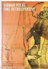 Fachbuch Sigmar Polke, Eine Retrospektive, Stilpluralismus von 1963 bis 2005 NEU