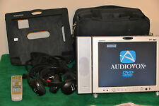 "Audiovox (D1210) 12"" Portable LCD/TV & DVD Player"