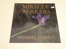 MIRACLE WORKERS - PRIMARY DOMAIN - LP 1989 GLITTERHOUSE RECORDS - OIS - NM-/EX--