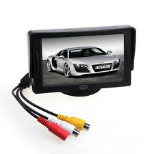 """New Car 4.3""""TFT LCD Color Rearview Monitor for DVD GPS Reverse Backup Camera"""
