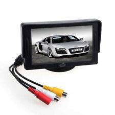 "Neu Auto 4.3""TFT LCD Farbe Rückspiegel Monitor für DVD GPS Rückseite"