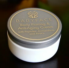 BABYFACE PRO BODY FIRMING & ANTI-AGING CREAM : Retinol + Peptides + Vitamin C