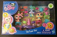 Littlest Pet Shop Tea Time Fun Party Playset 1918 Lovebug 1919 Cat 1920 Bunny