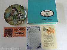My Cuddlies Collection Charlotte Jackson Treasures of Childhood Collector Plate