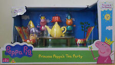 Peppa Pig ~ Princess Peppa's Royal Tea Party Set ~ Includes 3 Figures