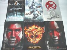 SDCC 2015 MOCKING JAY 2 INSURGENT POSTERS 2014 DIVERGENT PROMO POSTERS PIN