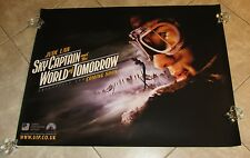 SKY CAPTAIN and the WORLD OF TOMORROW movie poster JUDE LAW poster