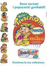 X2729 I nuovi Tenderlotti - Pubblicità 1995 - Advertising