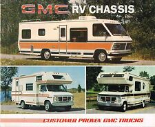 1985 GMC RV CHASSIS Brochure : Motor Home,G-3500,P6T042,RALLY CAMPER SPECIAL,