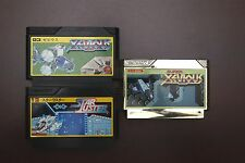 Famicom FC Star luster/ Xevious/ Super Xevious Japan Namcot Games