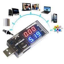 USB Charging Charger Doctor Current Voltage Detector Battery Voltmeter Ammeter