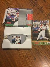 All-Star Baseball 2001 (Nintendo 64, 2000) COMPLETE IN BOX!! See pictures