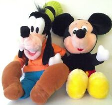 Disney Mickey Mouse and Goofy Stuffed Plush Toys