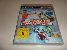 PlayStation 3  PS 3  Sports Champions (Move erforderlich)