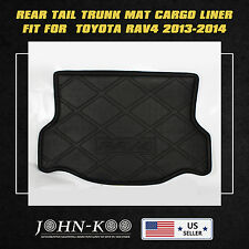 Fit All Weather Rear Trunk Cargo Mat Tray Liner For Toyota Rav4 2013-2014 New