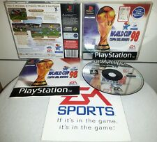 WORLD CUP 98 COPPA DEL MONDO - PlayStation 1 PS1 Gioco Game Play Station PSX