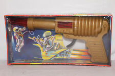 1970's Made in Spain Juypal Friction Space Gun with Box, Original