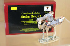 BRITAINS 39005 SUDAN SERIES BRITISH CAMEL CORPS MEDIC RELIEF of  KHARTOUM 1885 p