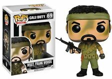 FUNKO POP GAMES CALL OF DUTY MSGT FRANK WOODS #69 NEW IN BOX #6821