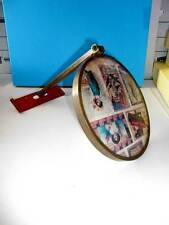 "Vintage Wall Mounted 6"" Mirror, Extension Arm 7-1/2"""
