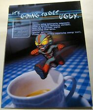 Advertising Micro Maniacs Playstation Codemasters Game - unposted